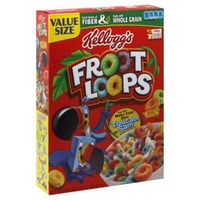 Kellogg's Froot Loops Family Size Cereal