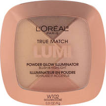 L'Oreal Paris True Match Lumi Powder Glow Illuminator C302 Ice Golden W 102