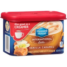 Maxwell House International Cafe Vanilla Caramel latte Beverage Mix