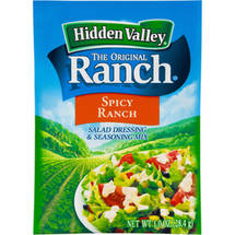 Hidden Valley Original Ranch Spicy Ranch Salad Dressing & Seasoning Mix