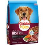Kibbles 'n Bits Bistro Oven Roasted Beef Flavor Dry Dog Food