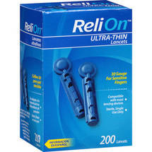 ReliOn Ultra-Thin Lancets