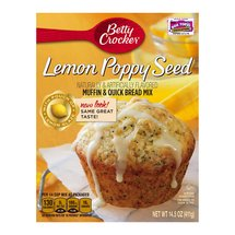 Betty Crocker Lemon-Poppy Seed Muffin & Quick Bread Mix