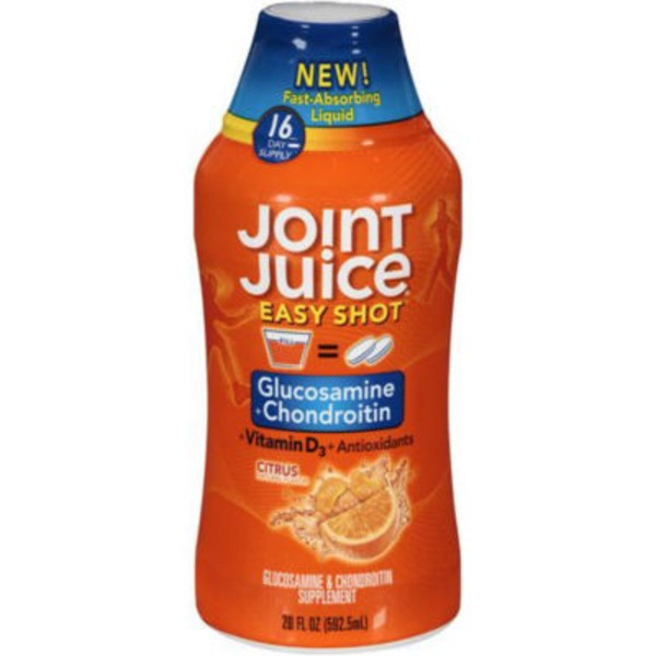 Joint Juice Easy Shot Citrus Glucosamine + Chondroitin Liquid Supplement