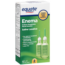 Equate Enema Sodium Phosphates Rectal Solution Complete Hygiene