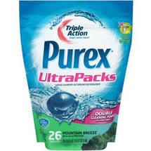 Purex UltraPacks Mountain Breeze Liquid Laundry Detergent