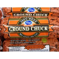 Kroger 80% Lean Ground Chuck Tube