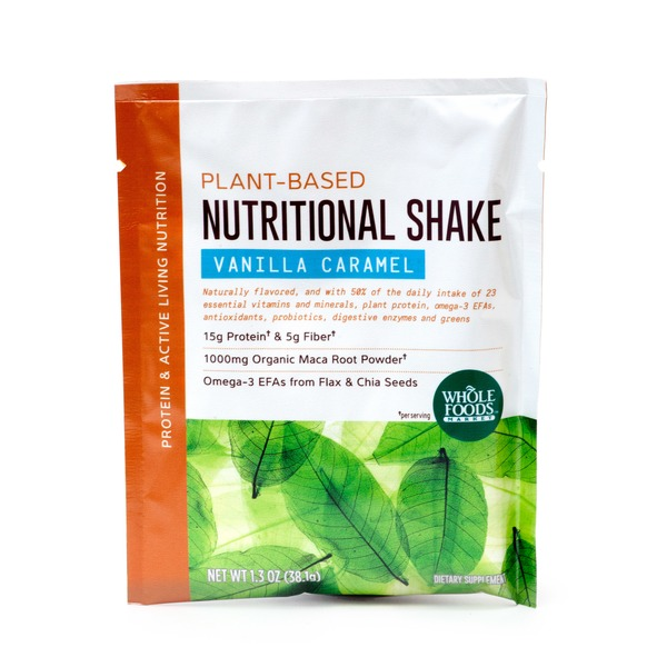 Whole Foods Market All In 1 Nutrional Caramel Vanilla Shake Single