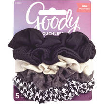 Goody Ouchless Houndstooth Scrunchies