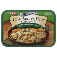 H-E-B Fully Cooked Chicken & Rice Casserole With Broccoli & Cheese