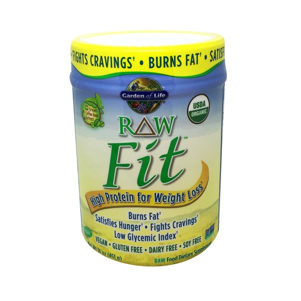 Garden of Life Organic Raw Fit High Protein Dietary Supplement