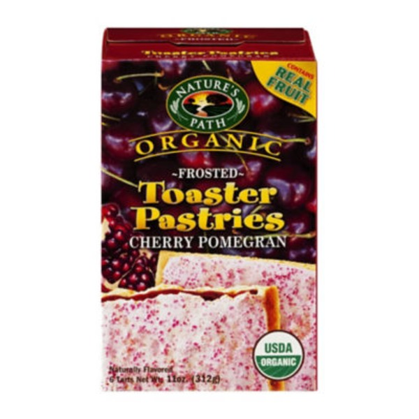 Nature's Path Frosted Cherry Pomegranate Toaster Pastries
