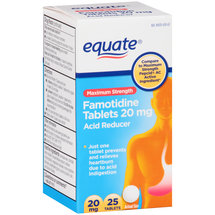 Equate Famotidine Acid Reducer Tablets