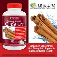 Trunature Advanced Strength CinSulin Capsules