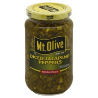 Mt. Olive Diced Jalapeno Fresh Pack Peppers