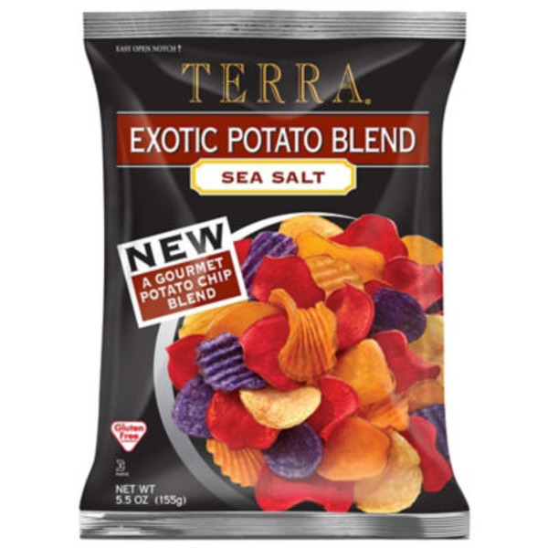Terra Real Exotic Potato Vegetable Chips