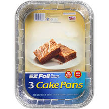 Hefty EZ Foil Cake Pans With Covers