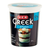 H-E-B Plain Greek Yogurt