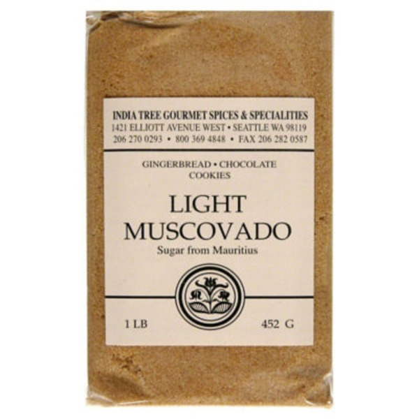 India Tree Light Muscovado Sugar