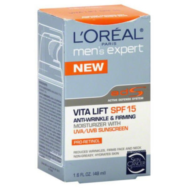 Men's Expert Vita Lift Anti-Wrinkle & Firming with Sunscreen Moisturizer