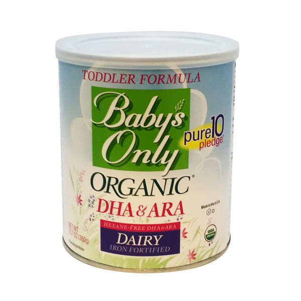 Baby's Only Toddler Formula Iron Fortified Dairy Powder