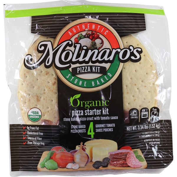 Costco Delivery From Store: Costco Molinaro's Organic Stone Baked Pizza Crust Kit W