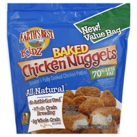 Earth's Best Kidz Baked Chicken Nuggets Value Bag