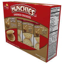 Munchies Peanut Butter Sandwich Crackers