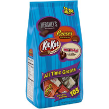 Hershey's All Time Greats Hershey's/Reese's/Kit Kat/Whoppers Candy