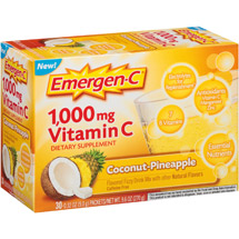 Emergen-C Coconut Pineapple Vitamin C Dietary Supplement Powder