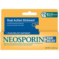 Neosporin® +Pain Relief First Aid Antibiotic/Pain Relieving Ointment, Maximum Strength