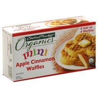 Central Market Mini Apple Cinnamon Waffles