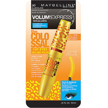 Maybelline Volum' Express Colossal Cat Eyes Waterproof Mascara Glam Black