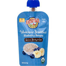 Earth's Best Organic Wholesome Breakfast Blueberry Banana Pouch