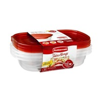 Rubbermaid Take Alongs Rectangles Containers + Lids 4  Cups - 3 CT