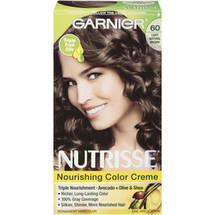 Garnier Nutrisse Haircolor 60 Light Natural Brown Acorn