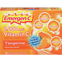 Emergen-C Tangerine Packets Dietary Supplement
