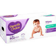 Parent's Choice Unscented Baby Wipes