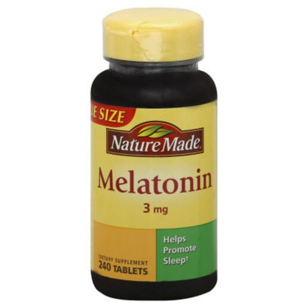 Nature Made Melatonin - 240 CT