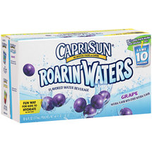 Capri Sun Roarin' Waters Grape Water Beverages