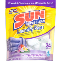 Sun Tropical Breeze Scent Laundry Pacs