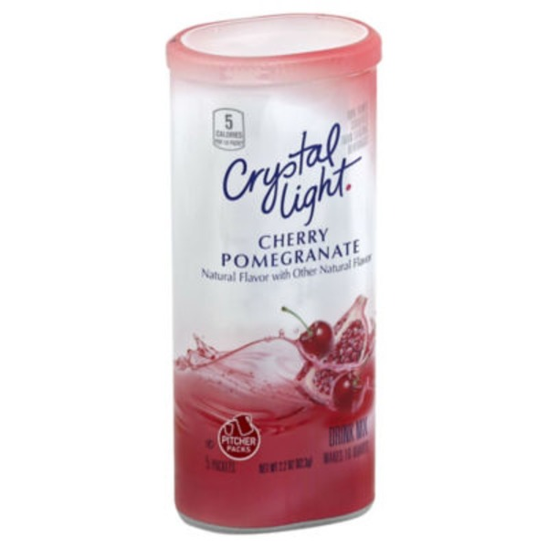 Crystal Light Cherry Pomegranate 10 qt Drink Mix