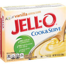 Jell-O Vanilla Cook & Serve Pudding & Pie Filling