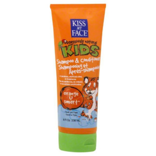 Kiss My Face Kid's Orange U Smart Shampoo & Conditioner