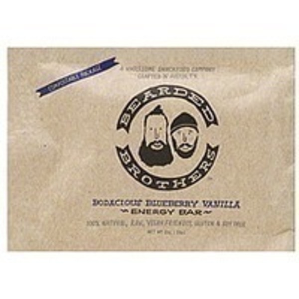 Bearded Brothers Bodacious Blueberry Vanilla Energy Bar