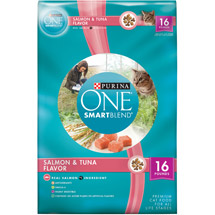 Purina ONE  Salmon & Tuna Flavor Cat Food