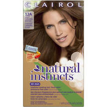 Clairol Natural Instincts Hair Color 12A Light Caramel Brown