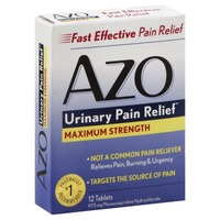 Azo Urinary Pain Relief Maximum Strength - 12 CT