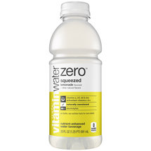 Glaceau Zero Vitamin Water Squeezed Lemonade