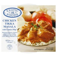 Exotic Foods Chicken Tikka Masala with Cumin Pilaf